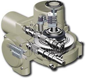 Однооборотный электропривод ГЗ-ОФ общепромышленный