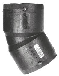 Отвод Frialen серии W30° ПЭ100 (SDR11)