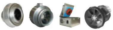 Вентиляторы Systemair для круглых воздуховодов