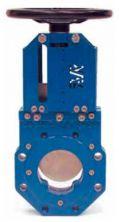 Задвижка чугунная ножевая шиберная AVK 702/10.