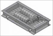 Опора трубопровода подвижная катковая двухярусная ТС-628.000 серии 5.903-13 выпуск 8-95