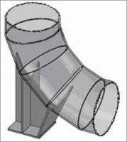 Опора сварных отводов ТС-631.000 серии 5.903-13 выпуск 8-95