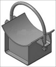 Опора трубопровода подвижная хомутовая ТС-626.000 серии 5.903-13 выпуск 8-95