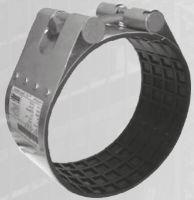 Муфта ремонтная STRAUB-CLAMP из нержавеющей стали для труб из разных материалов. Серия NBR/ES (длина 100 мм)
