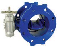 Затвор дисковый поворотный с двойным эксцентриком с электроприводом AVK 756/02.