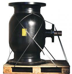 Кран шаровый Ballomax для керосина и светлых нефтепродуктов серии КШН 21.113, DN 100-200