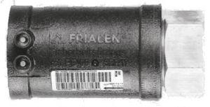 Переходник Frialen серии MUM ПЭ100-ВП/красное литье (SDR11)